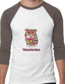 Hamsterdam Men's Baseball ¾ T-Shirt