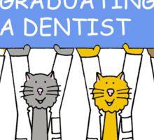Congratulations on graduating as a dentist. Sticker