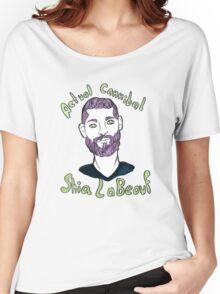 Actual Cannibal Shia LaBeouf Women's Relaxed Fit T-Shirt