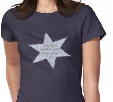 star haiku Womens Fitted T-Shirt