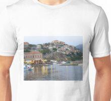 Beautiful Molyvos Village in Lesvos Island, Greece Unisex T-Shirt