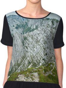 Rocky mountain peaks Chiffon Top