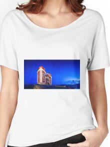 Calvary In Banska Stiavnica at night Women's Relaxed Fit T-Shirt