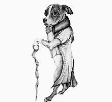 The Boston Terrier Duke  Womens Fitted T-Shirt