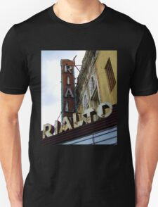 Lost Movie Palace: The Rialto Theater Unisex T-Shirt