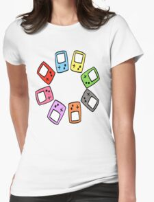 Gameboy Lover Womens Fitted T-Shirt