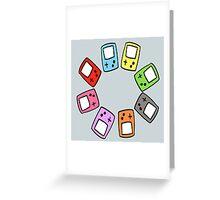 Gameboy Lover Greeting Card