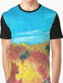 Fall In The Hills Graphic T-Shirt