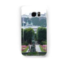 Mirabell Gardens & Hohensalzburg Castle in Salzburg, Austria Samsung Galaxy Case/Skin