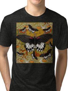 Nouveau Butterflies Tri-blend T-Shirt