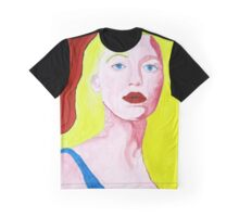 Pop Art Portrait of Blake Lively Graphic T-Shirt