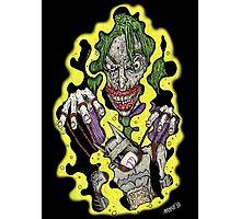 The Joker Pulling Batman's Strings Photographic Print