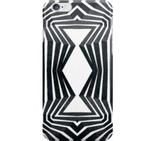 Black White Tribal Pattern  iPhone Case/Skin