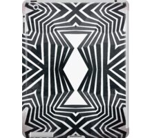 Black White Tribal Pattern  iPad Case/Skin