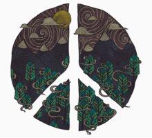 Peaceful Landscape One Piece - Short Sleeve