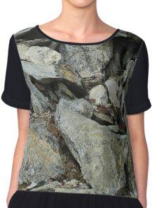 Mountain rocks Chiffon Top