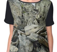 Rocky mountain trail Chiffon Top