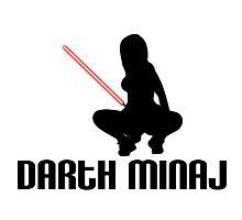 Darth Minaj Photographic Print