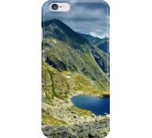 Mountain landscape in the summer iPhone Case/Skin