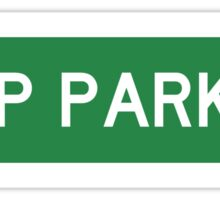 JEEP PARKING Sticker