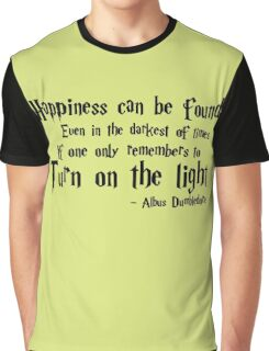Happiness Can Be Found Graphic T-Shirt