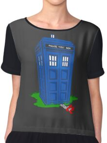 Wicked Tardis Chiffon Top