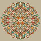 - Oriental flower pattern - by Losenko  Mila