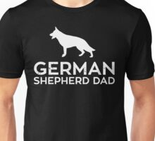 German Shepherd Dad Unisex T-Shirt