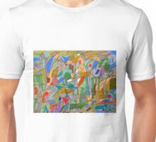 Chasing a sense of blankness Unisex T-Shirt