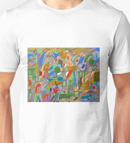 Chasing a sense of blankness Unisex T-Shirt