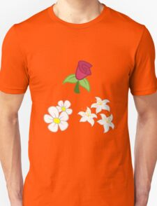 My little Pony - Roseluck + Daisy + Lily (Flower Shop) Cutie Mark T-Shirt