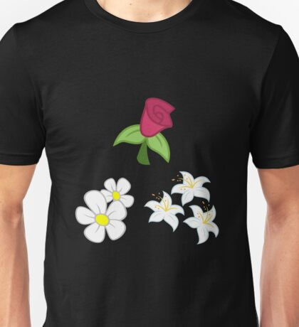 My little Pony - Roseluck + Daisy + Lily (Flower Shop) Cutie Mark Unisex T-Shirt