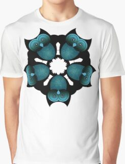 A PARLIMENT OF OWLS Graphic T-Shirt