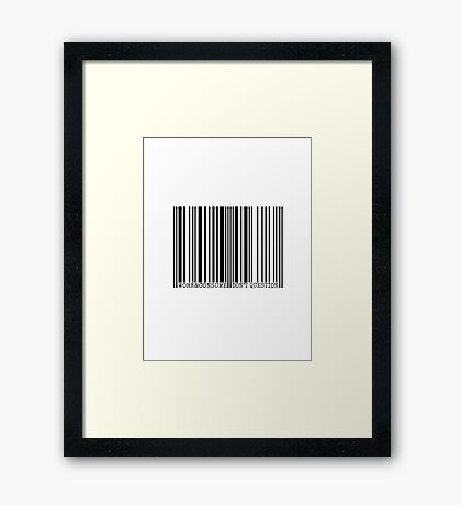 WORK & CONSUME, DON'T QUESTION Framed Print