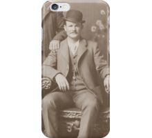 Butch Cassidy - Outlaw Portrait iPhone Case/Skin