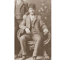 Butch Cassidy - Outlaw Portrait Photographic Print