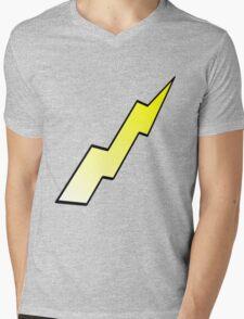 LIGHTNING Mens V-Neck T-Shirt
