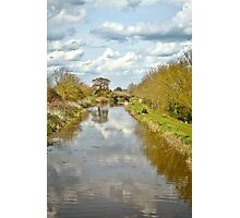 A Somerset Canal Photographic Print