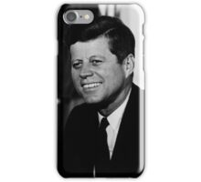 President John F. Kennedy Portrait iPhone Case/Skin