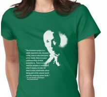 jane goodall Womens Fitted T-Shirt