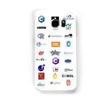 programming languages logos lenguajes programacion Samsung Galaxy Case/Skin