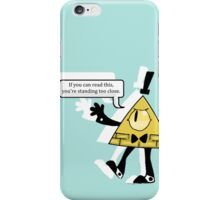 Bill says back off iPhone Case/Skin