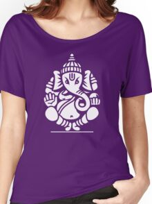 Ganesh Ganesa Ganapati 4 (white) Women's Relaxed Fit T-Shirt