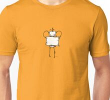 HAYCH the robot - white BG Unisex T-Shirt