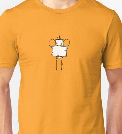 HAYCH the robot - white BG Unisex T-Shirt