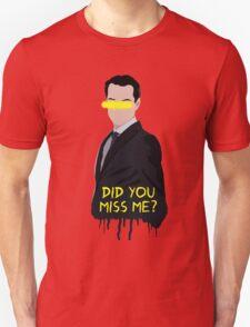 Sherlock Moriarty Do You Miss Me T-Shirt