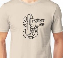 Ganesh Ganesa Ganapati 5 (black) Unisex T-Shirt