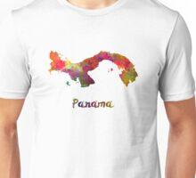 Panama in watercolor Unisex T-Shirt