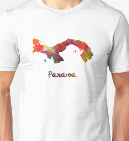 Panama in watercolor Unisex T-Shirt