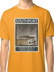 Southport - Where The Mud Meets The Sea Classic T-Shirt